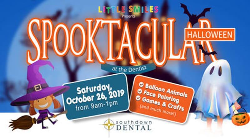 Spooktaclular Halloween event at Southdown Dental