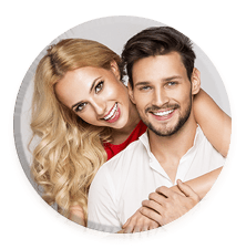 Transform your smile in as little as one visit.